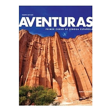 Aventuras 4th Edition, Student Edition with Supersite Code, New Book (9781618571311)