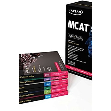 Kaplan MCAT Complete 7-Book Subject Review: Created for MCAT 2015 (Kaplan Test Prep), New Book (9781618656445)