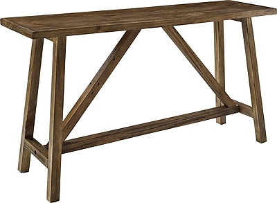Altra Furniture Wood Console Table, Brown, Each (5079096)