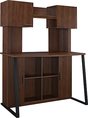 Altra Hanson Desk with Hutch, Cherry