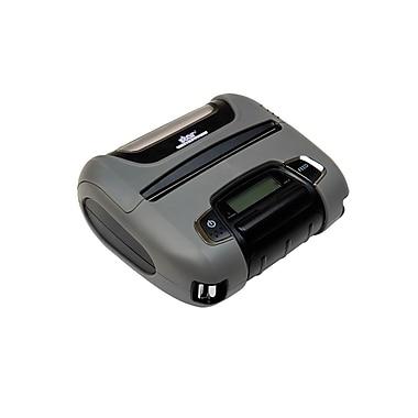 Star Micronics – Imprimante Bluetooth SM-T404i GRY thermique portative robuste, massicot de 4 po, gris, avec MSR