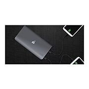 GearPower USB Portable Battery for Most Smartphones, 16000mAh, Black (GMP16K)