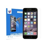 V7® Shatter-Proof Tempered Glass Screen Protector for iPhone 6
