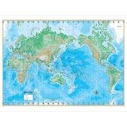 Universal Map World Advanced Physical Mounted Wall Map