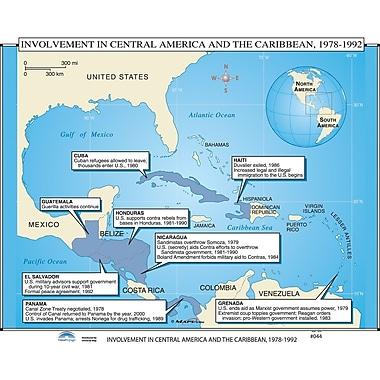 Universal Map U.S. History Wall Maps - Spanish / American War, Caribbean