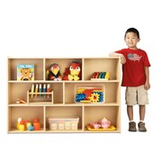 Young Time 8 Compartment Shelving Unit; Assembled