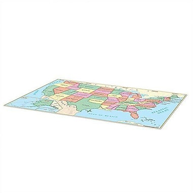 Universal Map Beginner Floor Map Vinyl - U.S.