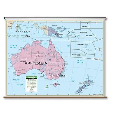 Universal Map Primary Wall Map - Australia