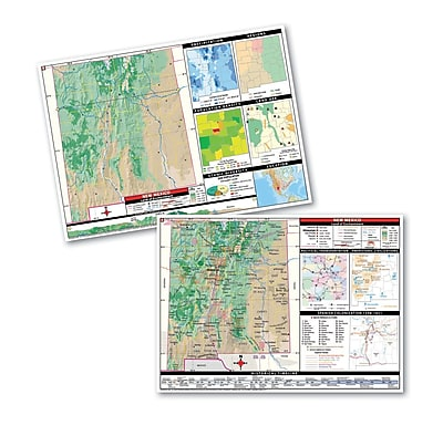 Universal Map Thematic Deskpad Class Set - New Mexico
