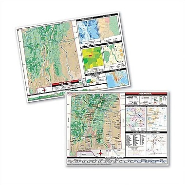 Universal Map Thematic Deskpad Map - New Mexico