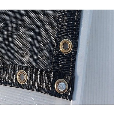 Solexx Black Shade Cloth; 8' W x 4' H