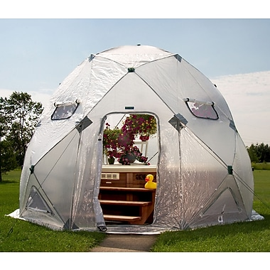 Flowerhouse DomeHouse 13 Ft. W x 13 Ft. D Greenhouse