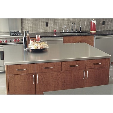 A-Line by Advance Tabco Island Counter Top; 1.5'' H x 49'' W x 49'' D