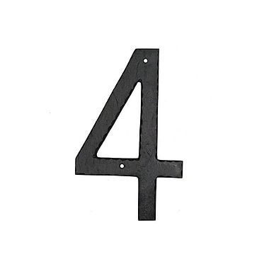 Montague Metal Products House Number; 4