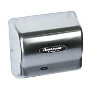 American Dryer Advantage Standard 100 - 240 Volt Hair Dryer in Satin Chrome