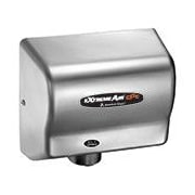 American Dryer Adjustable High Speed 100 - 240 Volt Hand Dryer in Satin Chrome