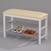 InRoom Designs Shoe Shoe Storage Bench