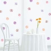 Walls Need Love Decorative Flowers Mini-Pack Wall Decal