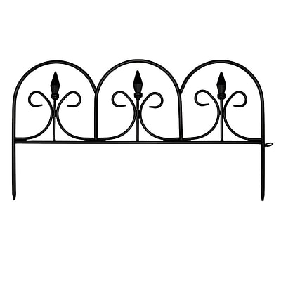 EMSCO Group 11.3 in. x 20.9 in. Victorian Fence (Set of 12); 12