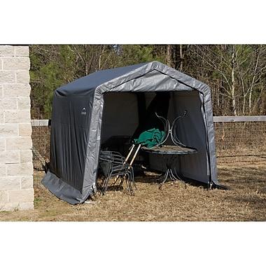 ShelterLogic 10.5 Ft. x 12 Ft. Garage; Grey
