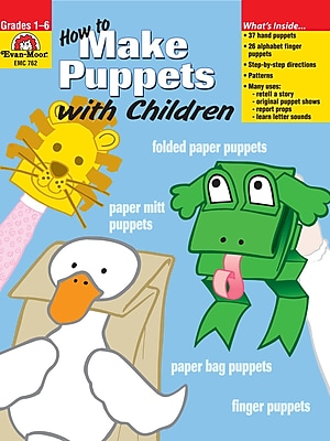How to Make Puppets with Children for Grades 1-6; Each (762)