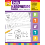 Evan-Moor Educational Publishers Daily Handwriting Practice: Modern Manuscript for Grades K-6 (792)
