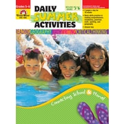 Evan-Moor Educational Publishers Daily Summer Activities: Moving from 5th to 6th Grade for Grades 5-6 (1066)