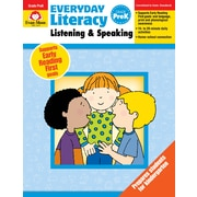 Evan-Moor Educational Publishers Everyday Literacy: Listening and Speaking Grade PreK Ed. 1 Paperback (2414)