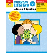 Evan-Moor Educational Publishers Everyday Literacy: Listening and Speaking Grade 1 Ed. 1 Paperback (2416)