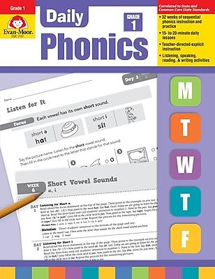 Evan-Moor Educational Publishers Daily Phonics Grade 1 Ed. 1 Paperback (2787)
