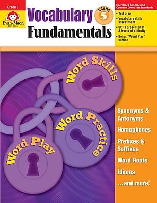 Evan-Moor Educational Publishers Vocabulary Fundamentals for Grade 5 (2805)