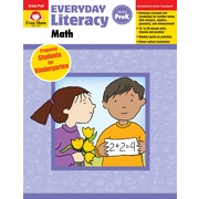 "Evan-Moor Educational Publishers ""Everyday Literacy: Math Grade PreK Edition 1"" (3037)"
