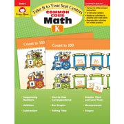 Evan-Moor Educational Publishers Take It to Your Seat: Common Core Math Centers Grade K Ed. 1 (3070)