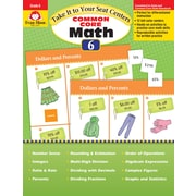 "Evan-Moor Educational Publishers ""Take It to Your Seat: Common Core Math Centers Gr. 6 Ed.1"" (3076)"