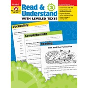 Evan-Moor Educational Publishers Read and Understand with Leveled Texts for Grade 2 (3442)