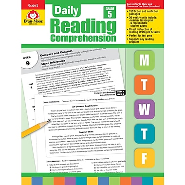 Evan-Moor Educational Publishers Daily Reading Comprehension for Grade 5 (3455)