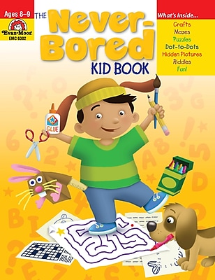 Evan-Moor Educational Publishers Never-Bored Kid Book for Grades 3-4 (6302)