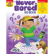 Evan-Moor Educational Publishers Never-Bored Kid Book for Grades K-1, Each (6303)