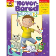 "Evan-Moor Educational Publishers ""Never-Bored Kid Book 2 for Grades K-1"" (6308)"