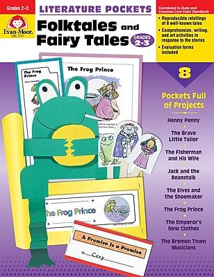 Evan-Moor Publishers Literature Pockets: Folktales & Fairy Tales 2-3 Ed. 1 Paperback (2731)