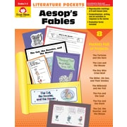 "Evan-Moor Educational Publishers ""Literature Pockets: Aesop's Fables Grades 2-3 Edition 1,"" Paperback (2733)"