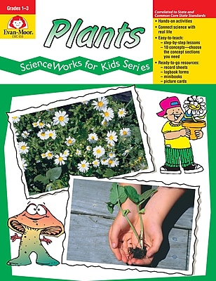 Evan-Moor Educational Publishers ScienceWorks for Kids:Plants Grades 1-3 (858)