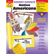 "Evan-Moor Educational Publishers ""History Pockets: Native Americans Grades 1-3"" (3703)"