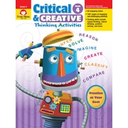 Evan-Moor Educational Publishers Critical and Creative Thinking Activities for Grade 4, Each (3394)