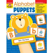 Evan-Moor Educational Publishers Alphabet Puppets for Grades PreK-1 (2005)
