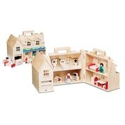 """Melissa & Doug Fold & Go Large Dollhouse, 16"""" x 10.7"""" x 9.7"""", (786)"""