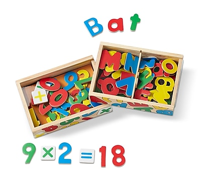 Melissa & Doug Magnetic Letters & Numbers Bundle, 8
