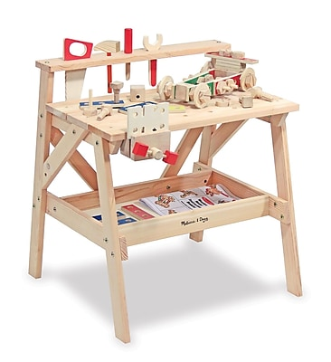 Melissa & Doug Wooden Project Workbench, 27.7