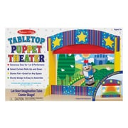 "Melissa & Doug Tabletop Puppet Theater, 25.2"" x 15.7"" x 2.8"", (2536)"