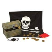 "Melissa & Doug Pirate Chest, 9.75"" x 7.5"" x 7.3"", (2576)"